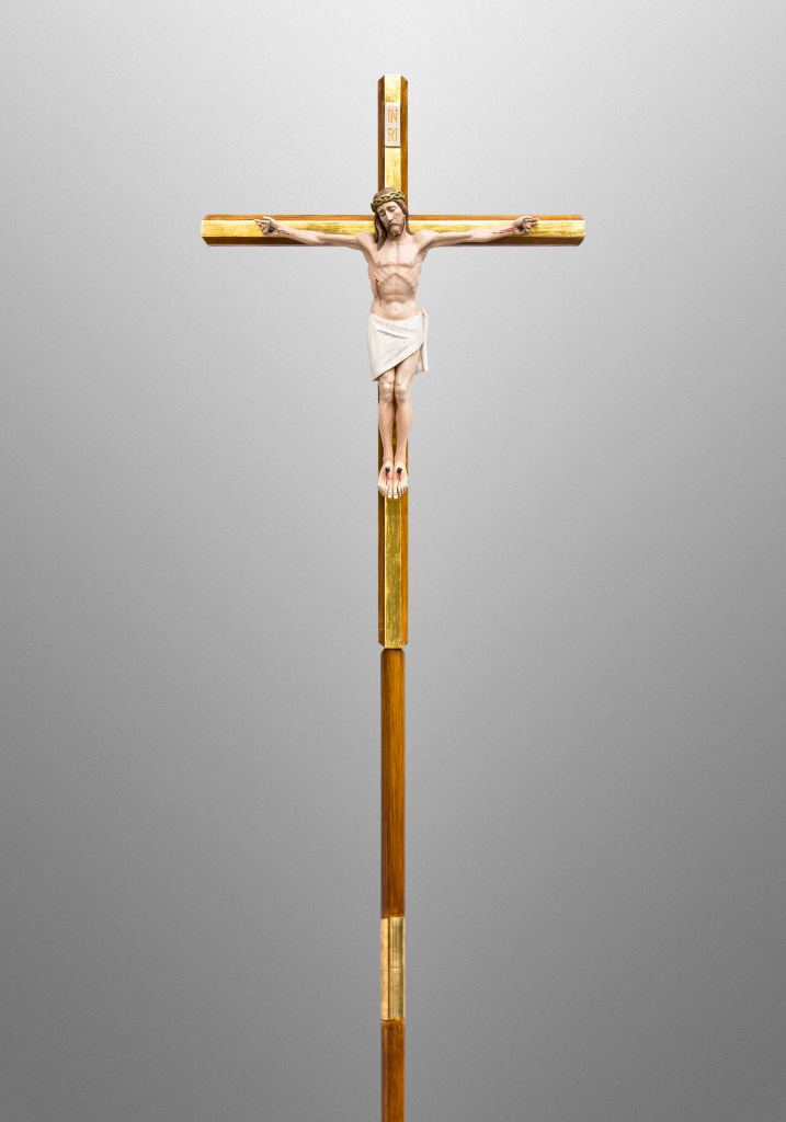 Processional cross for Cathedral of Saint Mary of the Assumption, San Francisco, California (USA)