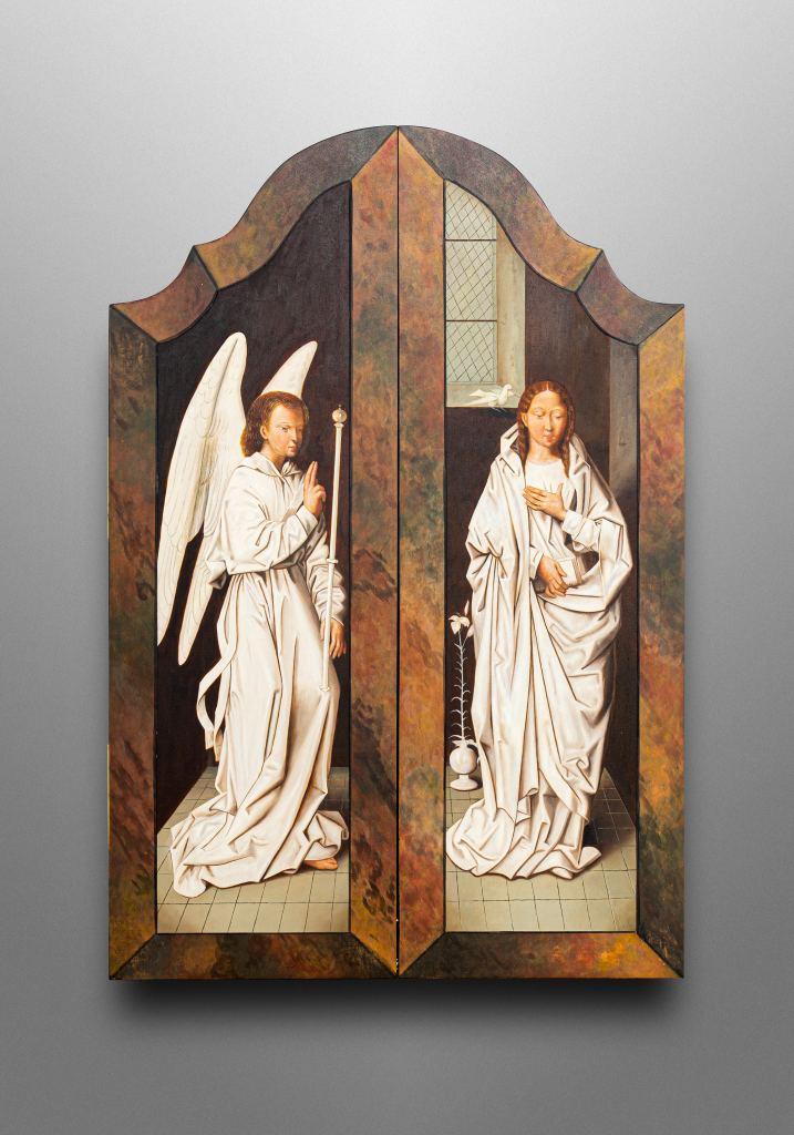 Flügelaltar mit der Verkündigung der heiligen Jungfrau Maria