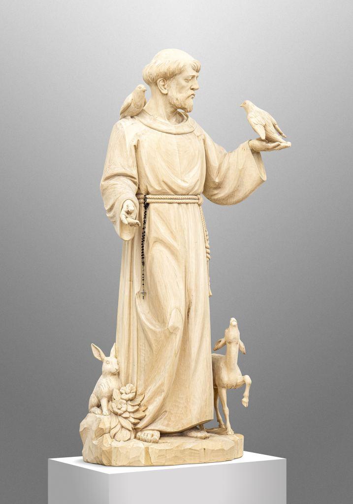 Heiliger Franziskus für eine private Kapelle in Nebraska, USA